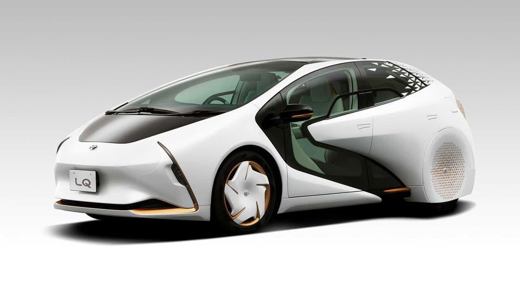 تويوتا LQ :هدایت خودرو بدون کنترل انسان