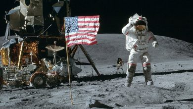 تصویر از مشکلات سفر به ماه با آپلو 11