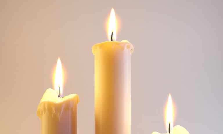 شعله شمع در جاذبه صفر