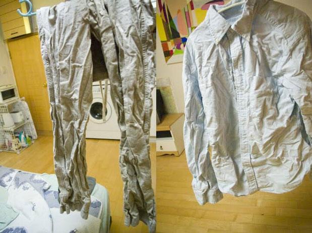 علت چروک شدن لباس در ماشین لباسشویی