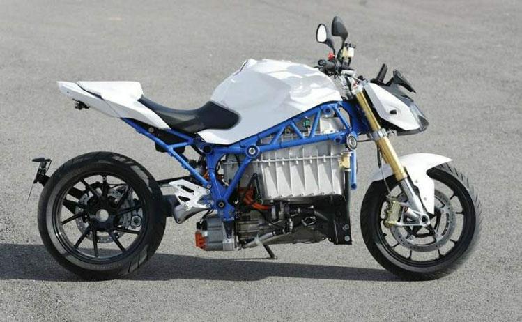 موتور سیکلت برقی بی ام و E-Power Roadster