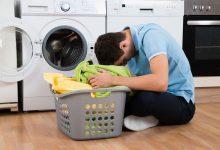تصویر از دلیل چروک شدن لباس در ماشین لباس شویی