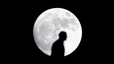 تصویر از تاثیر ماه بر روی کره زمین