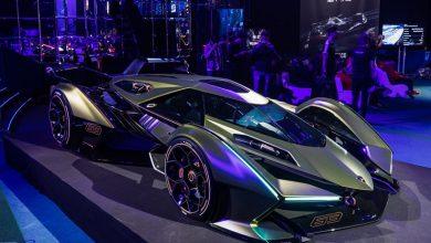 تصویر از لامبورگینی V12 vision GT مدل 2020 : از بازی تا واقعیت