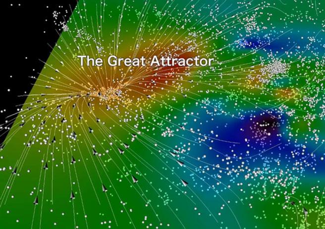 جاذبه ای بزرگ به نام Great Attractor