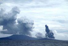 تصویر از بلندترین صدایی که بشر تاکنون تجربه کرده است : آتشفشان کراکاتوا