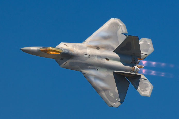 هواپیمای جنگنده F-22A