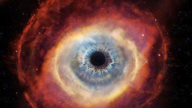 تصویر از سحابی چشم گربه ای NGC 6543