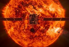 تصویر از کاوشگر Solar Orbiter منظره ای از خورشید به ما میدهد که هیچ کاوشگری ندیده است