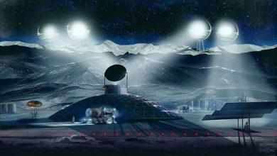 تصویر از استخراج منابع ماه توسط دونالد ترامپ امضا شد