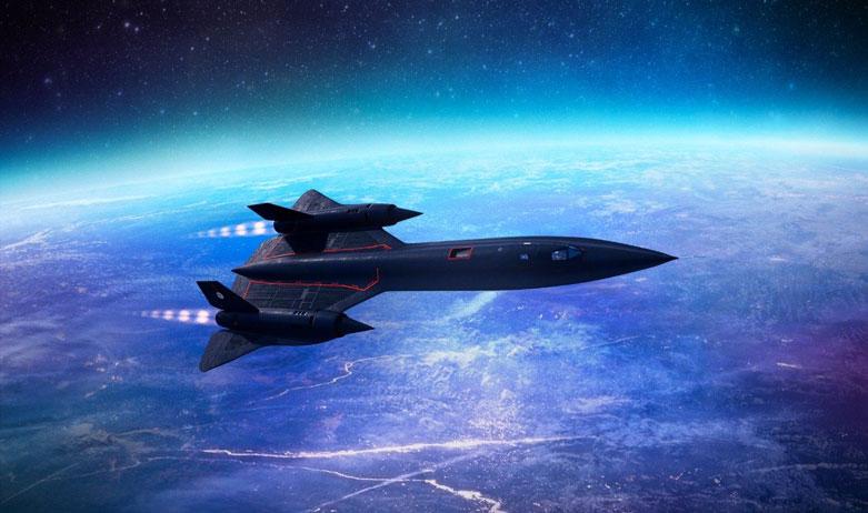 نگاهی به هواپیما Lockheed SR-71 Blackbird