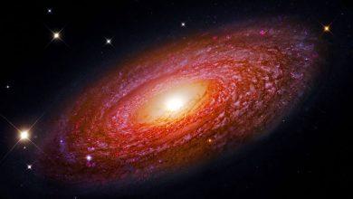 تصویر از کهکشان NGC 2841