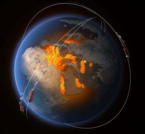 میدان مغناطیسی زمین در حال کاهش است