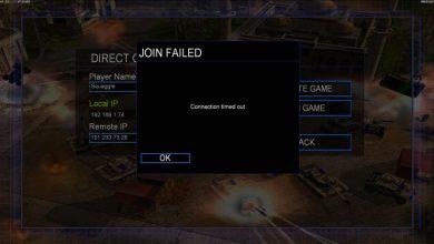 تصویر از حل مشکلات بازی تحت شبکه جنرال 2