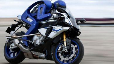 تصویر از ربات موتور سوار با سرعت 200 کیلومتر بر ساعت