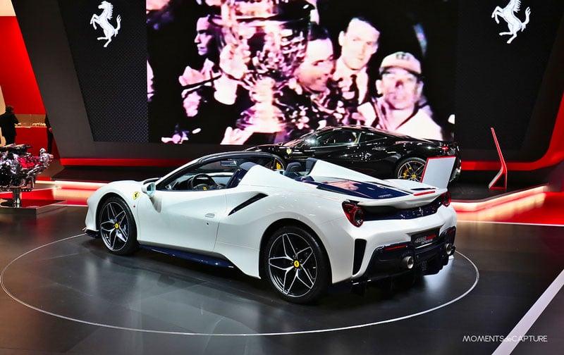 ماشین فراری جدید | Ferrari 488 Pista Spider