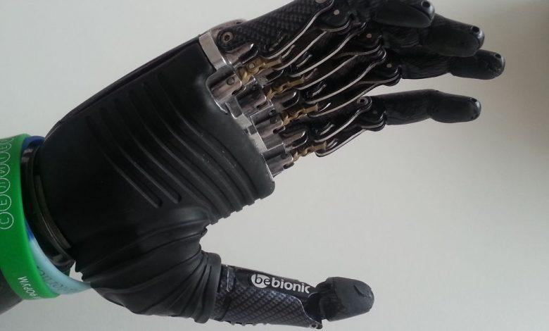 دست مصنوعی با پرینتر 3 بعدی در 10 ساعت