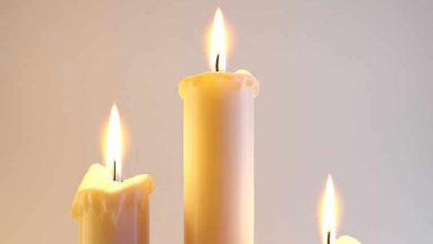 تصویر از شعله شمع در جاذبه صفر