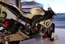 تصویر از ب ام و S1000RR مدل HP4