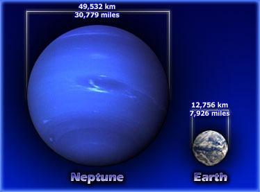 نپتون همانند زمین دارای هسته سنگی است
