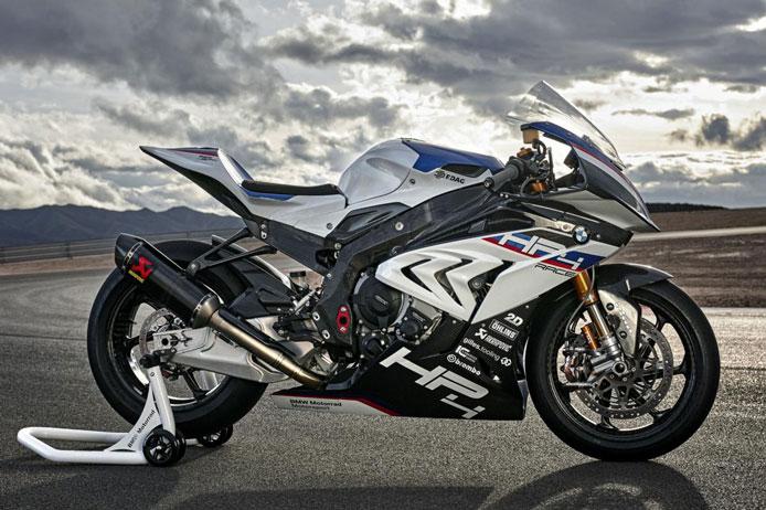 ب ام و S1000RR مدل HP4 | موتور سیکلت BMW S1000