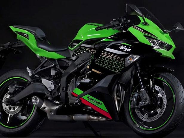 موتورسیکلت Ninja ZX-25R کاوازاکی رونمایی شد