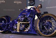 تصویر از گرانترین موتور سیکلت جهان