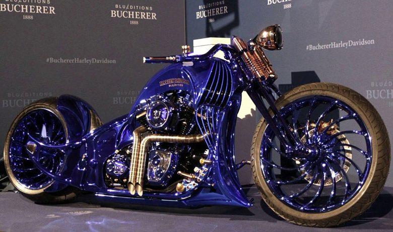 گرانترین موتور سیکلت جهان