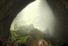 تصویر از بزرگترین غار جهان با رودخانه ، آبشار و ابر و غیره