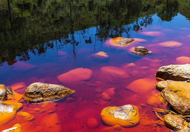 اسرار رودخانه rio tinto مشهور به رودخانه سرخ