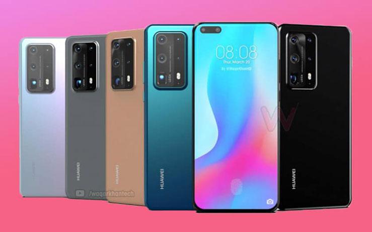 گوشی Huawei P40