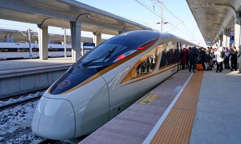 سریعترین قطار بدون راننده جهان در چین راه اندازی شد