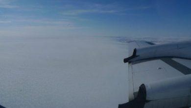 تصویر از کشف دریاچه باستانی در عمق یخ های گرینلند