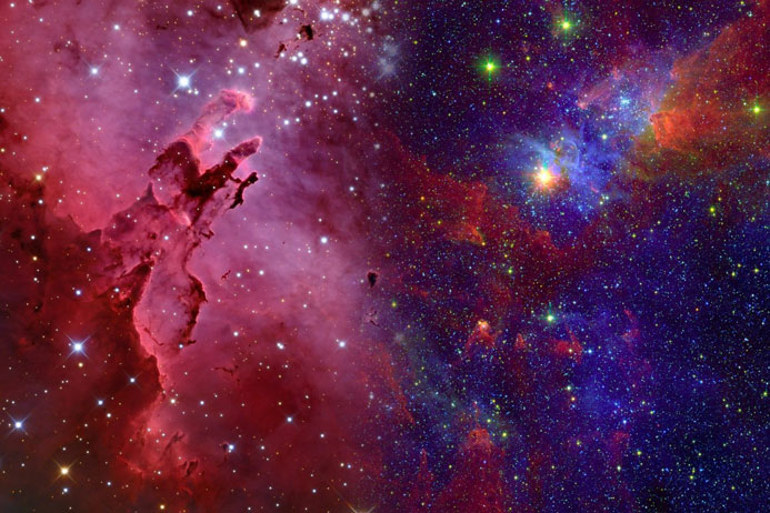 اگر فضا پر از هوا باشد ، صدای ستاره ها چقدر بلند خواهد بود ؟