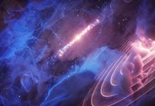 """تصویر از دانشمندان یک """"ضربان قلب گاما"""" با انرژی روشن در فضا را کشف کردند"""