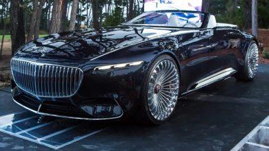 تصویر از نگاهی به مرسدس بنز کوپه برقی Vision Mercedes Maybach 6