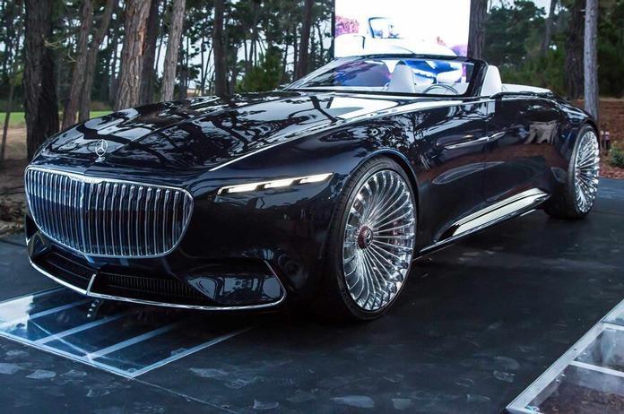 مرسدس بنز کوپه برقی Vision Mercedes Maybach 6