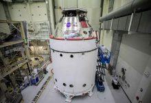 تصویر از خرابی قطعات در کپسول خدمه orion ناسا ممکن است ماه ها به طول انجامد