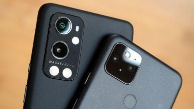 تصویر از دوربین گوشی OnePlus 9 Pro در مقابل Google Pixel 5
