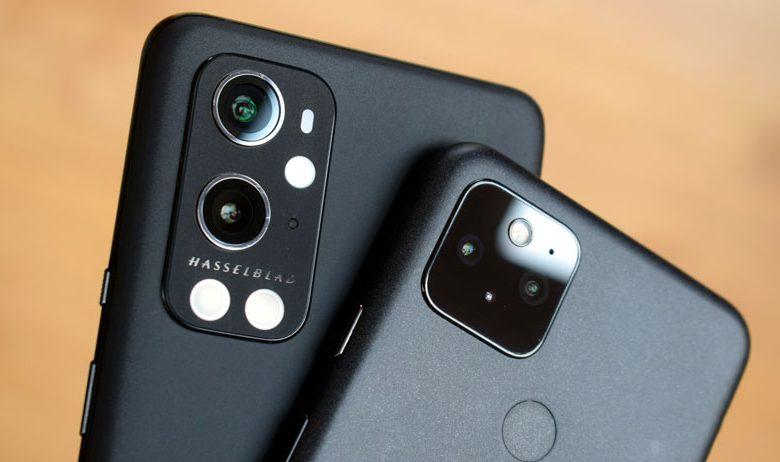 دوربین گوشی OnePlus 9 Pro در مقابل Google Pixel 5